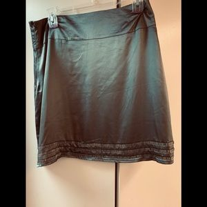 Charlotte Russe satin look(polyester) w/ beading